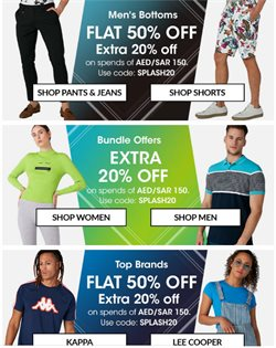 Clothes, Shoes & Accessories offers in the Splash catalogue in Abu Dhabi