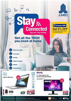 Technology & Electronics offers in the Jumbo catalogue in Abu Dhabi ( 8 days left )