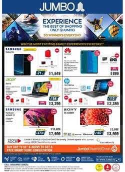 Jumbo offers in the Sharjah catalogue