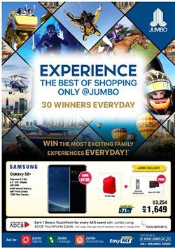 Technology & Electronics offers in the Jumbo catalogue in Abu Dhabi