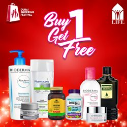Health & Beauty offers in the Life Pharmacy catalogue in Abu Dhabi