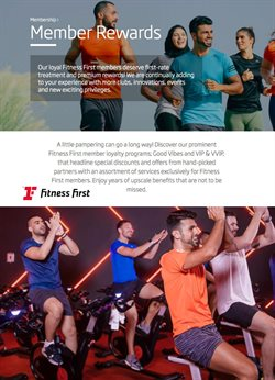 Fitness First catalogue in Al Ain ( 20 days left )