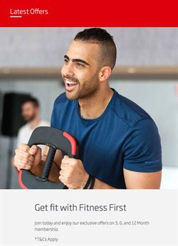 Offers of Fitness in Fitness First
