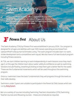 Sport offers in the Fitness First catalogue ( 10 days left)