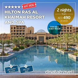 Travel & Leisure offers in the Dnata Travel catalogue in Sharjah ( 5 days left )
