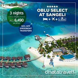 Travel & Leisure offers in the Dnata Travel catalogue ( 3 days left )
