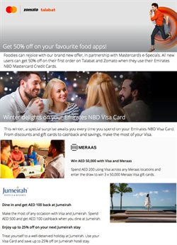 Offers of Hotels in Emirates NBD