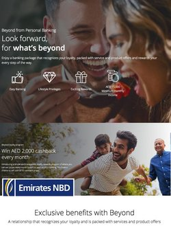 Emirates NBD offers in the Emirates NBD catalogue ( 28 days left)