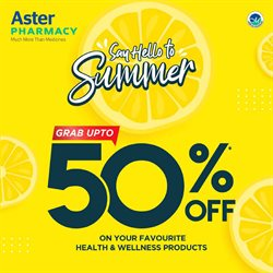 Aster Pharmacy catalogue ( Expired )