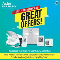 Health & Beauty offers in the Aster Pharmacy catalogue in Mussafah ( 16 days left )