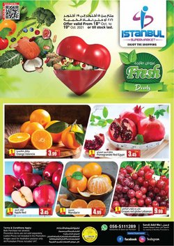 Groceries offers in the Istanbul Supermarket catalogue ( Expires today)