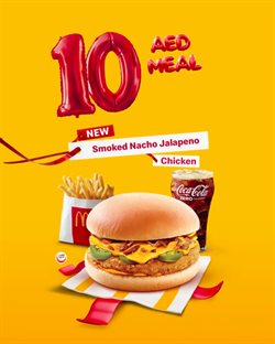 Restaurants offers in the McDonald's catalogue in Abu Dhabi ( 8 days left )