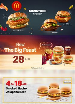 Restaurants offers in the McDonald's catalogue in Al Ain ( 22 days left )