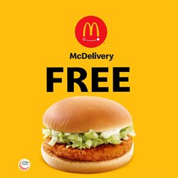 Restaurants offers in the McDonald's catalogue in Abu Dhabi ( 16 days left )