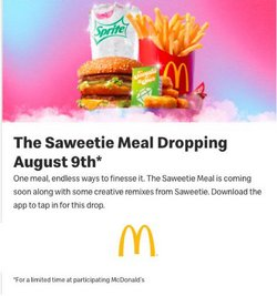 Restaurants offers in the McDonald's catalogue ( Published today)