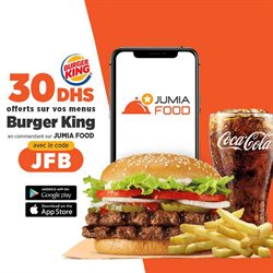 Restaurants offers in the Burger King catalogue in Ajman