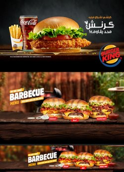 Burger King catalogue ( More than a month)