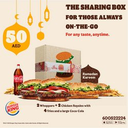 Burger King catalogue ( Published today )