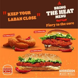 Burger King offers in the Burger King catalogue ( More than a month)