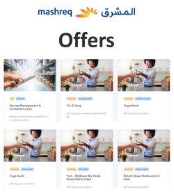 Mashreqbank offers in the Mashreqbank catalogue ( 26 days left)