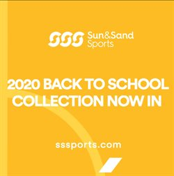 Sun & Sand Sports catalogue ( 23 days left )