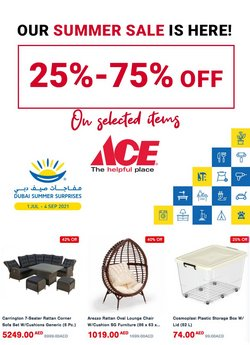 Ace offers in the Ace catalogue ( 30 days left)