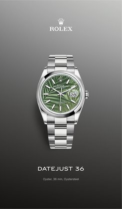 Rolex offers in the Rolex catalogue ( More than a month)