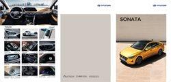 Hyundai catalogue ( More than a month )
