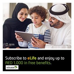 Technology & Electronics offers in the Etisalat catalogue ( More than a month)