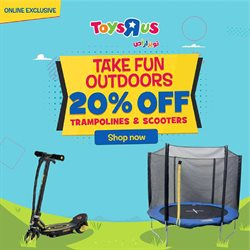 Babies, Kids & Toys offers in the Toys R Us catalogue in Al Ain