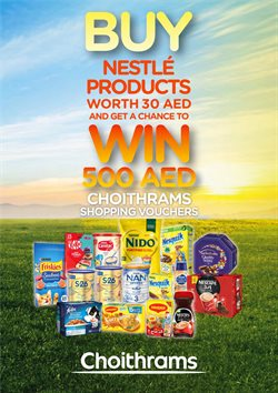 Groceries offers in the Choitrams catalogue in Al Ain ( 14 days left )