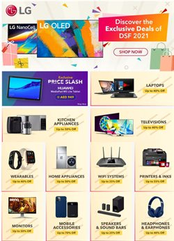 Offers of Huawei in Sharaf DG
