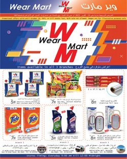 Groceries offers in the Wear Mart catalogue ( Expires tomorrow)