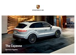 Porsche offers in the Dubai catalogue
