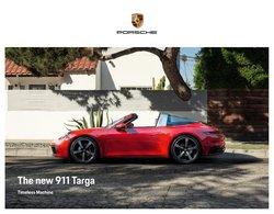 Porsche offers in the Porsche catalogue ( More than a month)