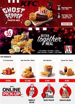 Restaurants offers in the KFC catalogue in Abu Dhabi ( 20 days left )