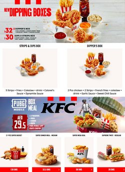 KFC offers in the KFC catalogue ( 17 days left)