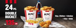 Restaurants offers in the KFC catalogue ( Expires today)
