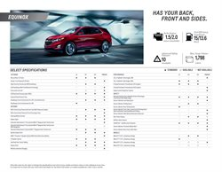 Chevrolet catalogue ( More than a month )