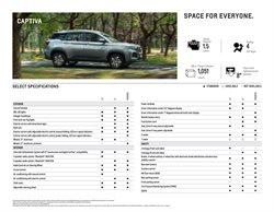 Chevrolet catalogue ( 19 days left )