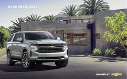 Chevrolet offers in the Chevrolet catalogue ( More than a month)