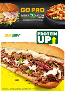 Restaurants offers in the Subway catalogue in Abu Dhabi ( More than a month )