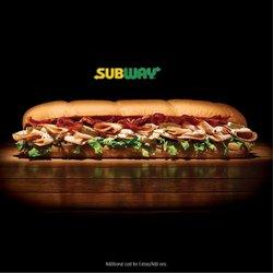 Subway catalogue ( More than a month )
