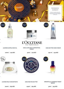 Health & Beauty offers in the L'Occitane catalogue ( 2 days left)
