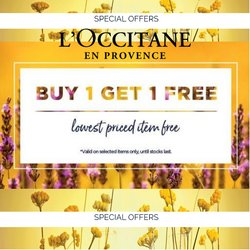 Health & Beauty offers in the L'Occitane catalogue ( 8 days left)