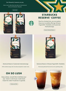 Restaurants offers in the Starbuck's catalogue in Abu Dhabi ( More than a month )