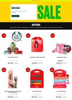 The Body Shop catalogue ( More than a month )