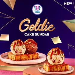 Restaurants offers in the Baskin Robbins catalogue in Abu Dhabi