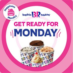 Restaurants offers in the Baskin Robbins catalogue ( 3 days left)