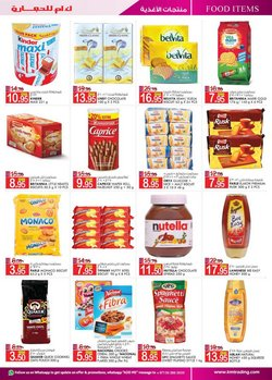 Offers of Nutella in KM Trading